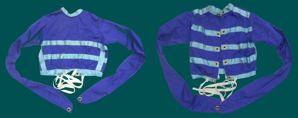 Purple Hospital Straitjacket for a Child